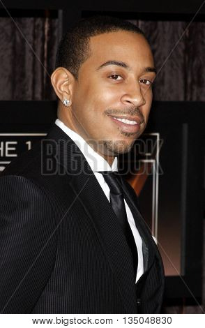 Chris 'Ludacris' Bridges at the VH1's 14th Annual Critics' Choice Awards held at the Santa Monica Civic Auditorium in Santa Monica, USA on January 8, 2009.