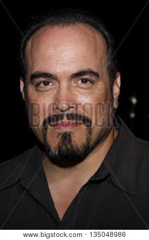 David Zayas at the Los Angeles Premiere of