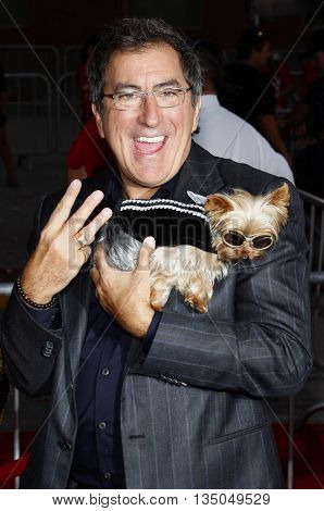 Kenny Ortega at the Los Angeles Premiere of 'High School Musical 3: Senior Year' held at the Galen Center in Los Angeles, USA on October 16, 2008.