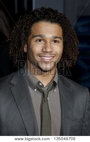 Corbin Bleu at the Los Angeles Premiere of 'High School Musical 3: Senior Year' held at the Galen Center in Los Angeles, USA on October 16, 2008.
