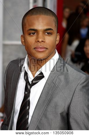 Chris Warren Jr. at the Los Angeles Premiere of 'High School Musical 3: Senior Year' held at the Galen Center in Los Angeles, USA on October 16, 2008.