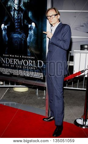 Bill Nighy at the World Premiere of 'Underworld: Rise of the Lycans' held at the ArcLight Cinemas in Hollywood, USA on January 22, 2009.
