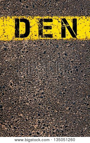 Den Three Letters Airport Code