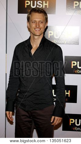 Neil Jackson at the Los Angeles Premiere of 'Push' held at the Mann Village Theater in Westwood, USA on January 29, 2009.