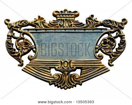 grand signboard isolated