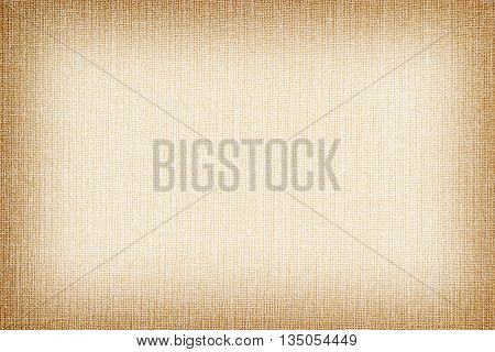 Natural Linen Texture For The Background. Brown Color