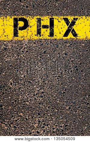Phx Three Letters Airport Code