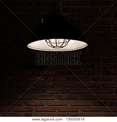 Light Bulbs In Hanging Lamp
