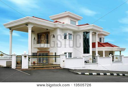 modern large house