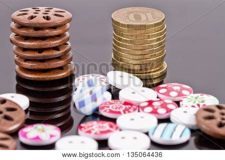 Good Buttons Weight In Gold