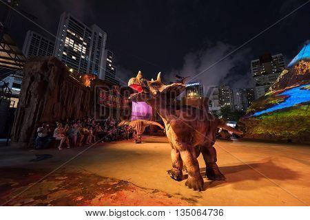 Show At Dinosaur Planet