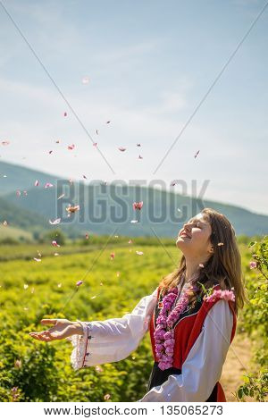 Throwing Roses In The Air