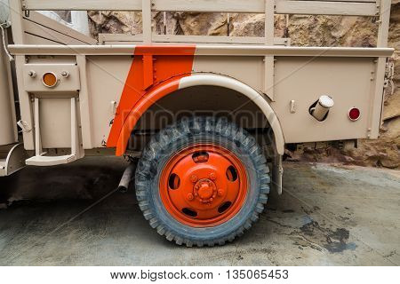 Off Road Truck and tire adventure vehicle