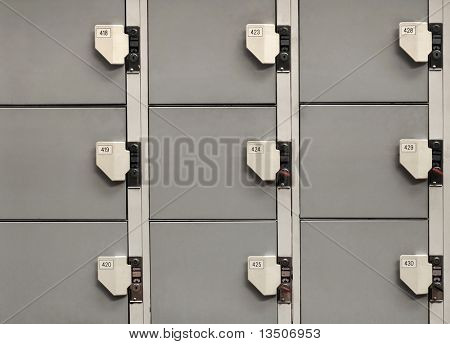 locker close-up