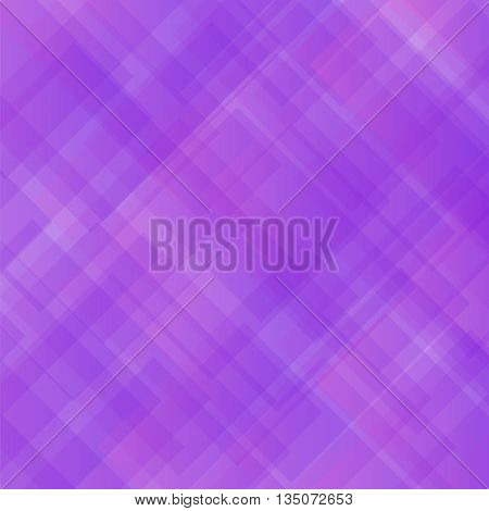 Purple Square Background. Abstract Purple Square Pattern.