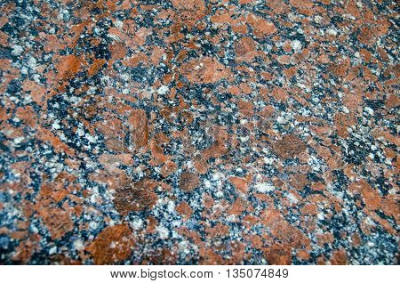 Granite rock pattern close view natural texture background