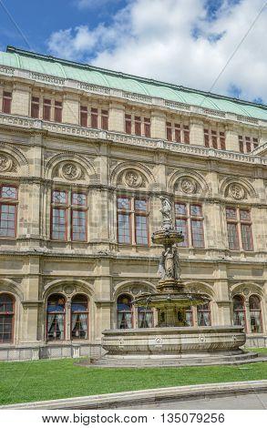 Vienna State Opera House Statues (wiener Staatsoper) - Vienna