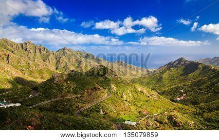 Aerial View Of Park Rural Anaga