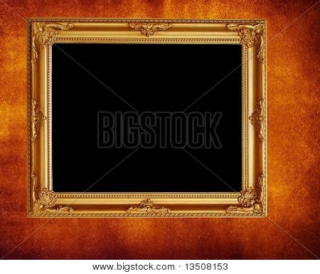 elegant picture frame on wall