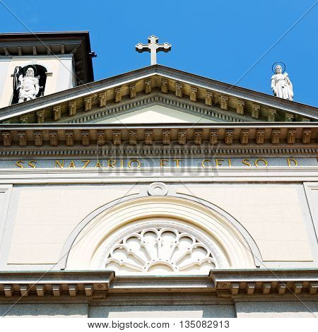 Building Europe  Old Christian Ancient  In Italy Milan Religion       And Sunlight