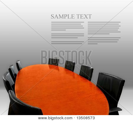 meeting table layout