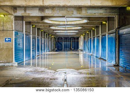 Flooded Pedestrian Underpass