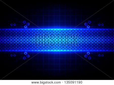 Abstract Technology concept design background. vector illustration