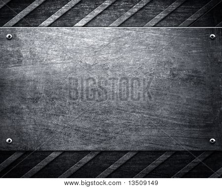 template of metal background