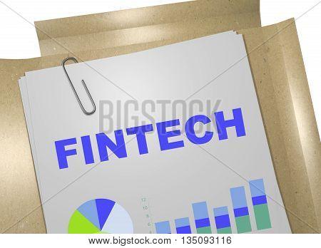Fintech Business Concept