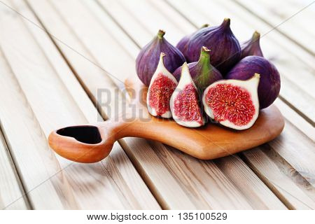 delicious fresh figs - fruits and vegetables