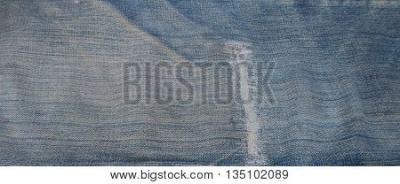 Closeup denim jeans  texture background jean background