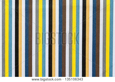fabric texture of colored stripes in upright