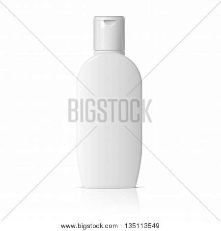 Realistic Cosmetic Bottle