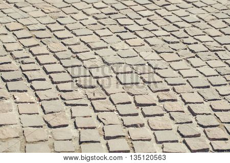 Brick old brown abstract footpath  textured background
