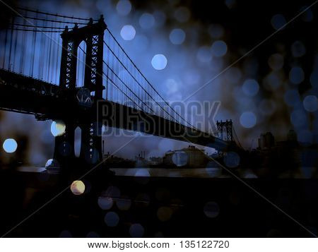 NYC Bridge 3D Render