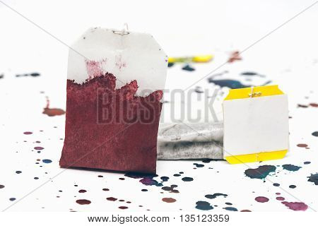 Teabags In Watercolor