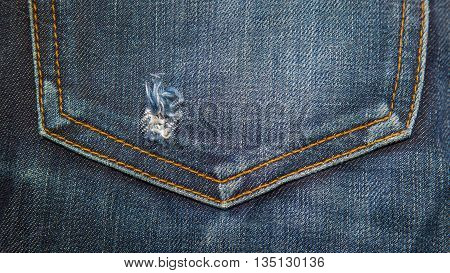 Blue denim jeans texture. Jeans background. jeans wallet