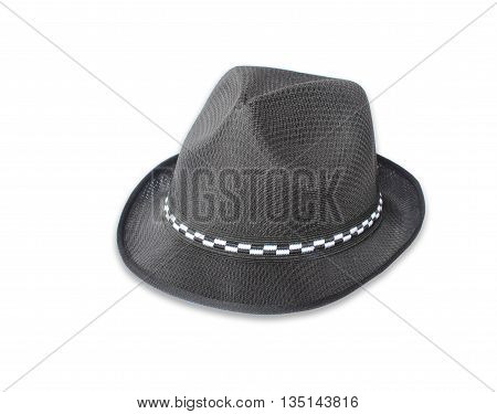 The Retro hat isolated against white background