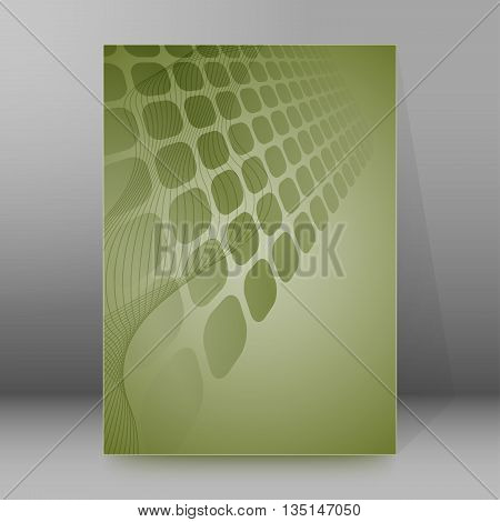 Brochure Cover Template Vertical Format Glowing Background14