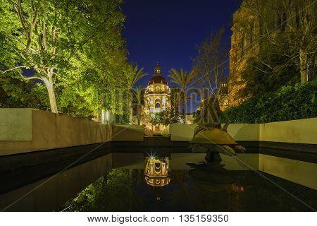 The Beautiful Pasadena City Hall Near Los Angeles, California