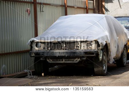 old car needs repair to become as good as new