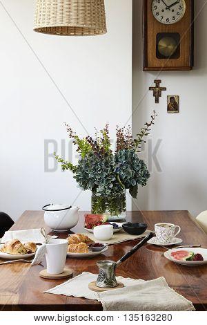 Breakfast In A Rustic Elegant Style