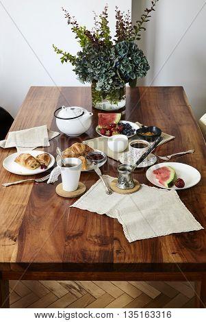 Tasty Breakfast In A Elegant Style