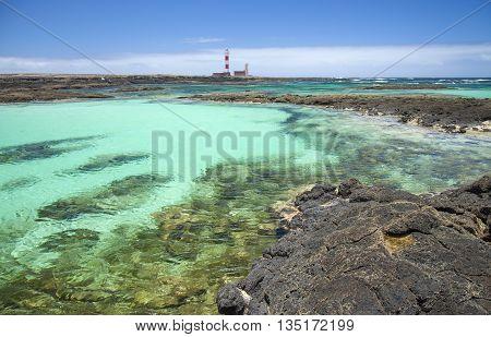 Northern Fuerteventura, Small Shallow Lagoons Around Faro De Toston