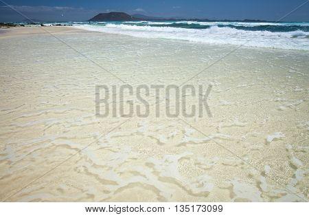 Northern Fuerteventura, Corralejo Flag Beach