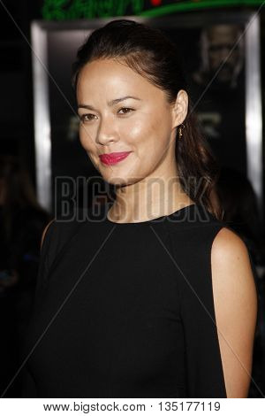Moon Bloodgood at the Los Angeles premiere of 'Faster' held at the Grauman's Chinese Theater in Hollywood, USA on November 22, 2010.