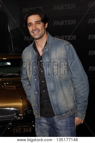 Gilles Marini at the Los Angeles premiere of 'Faster' held at the Grauman's Chinese Theater in Hollywood, USA on November 22, 2010.