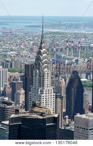 May 24, 2008 -  New York City, New York - United States of America - New York City skyline