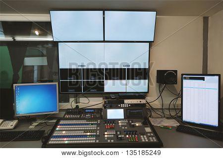 Tv Studio Control Center