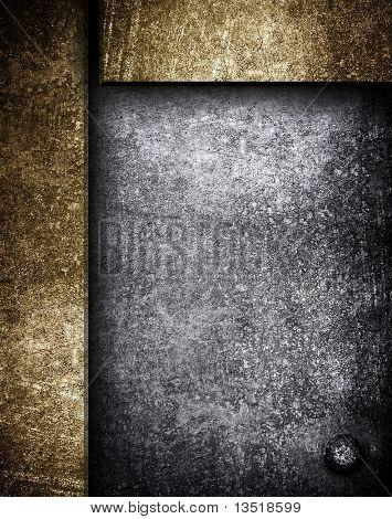 crude iron template